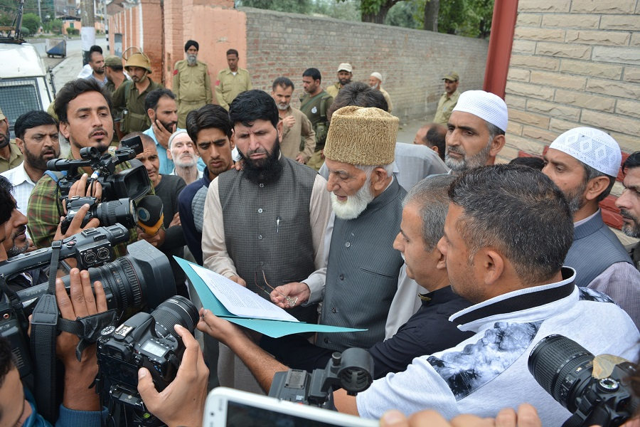 Geelani Sahab Arrested by Police